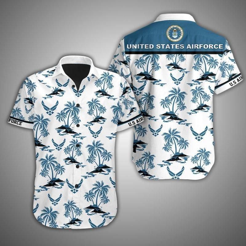 US Airforce Island Hawaiian shirt
