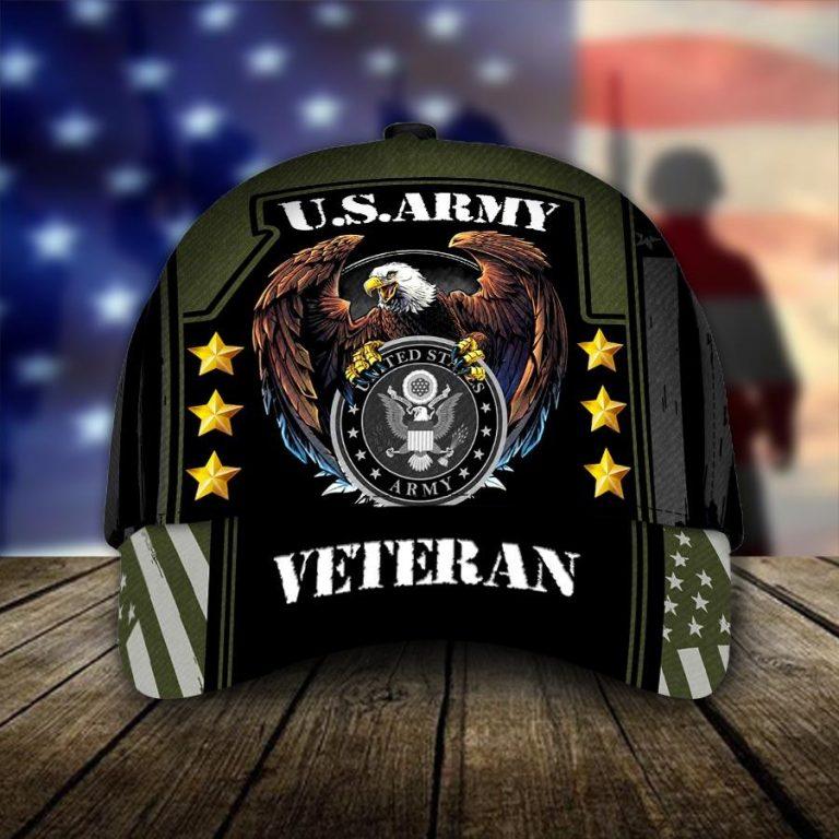 US Army Veteran Eagle cap hat 1