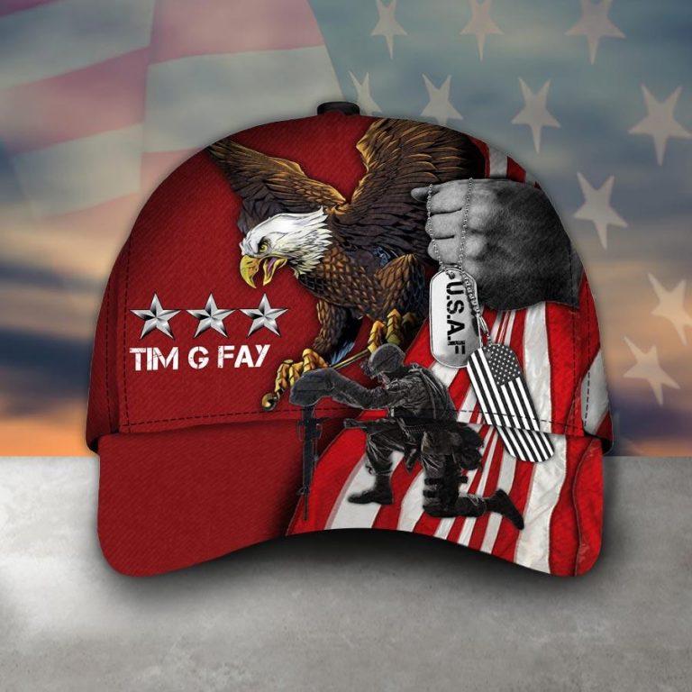 US Army Veteran Eagle cap hat 6