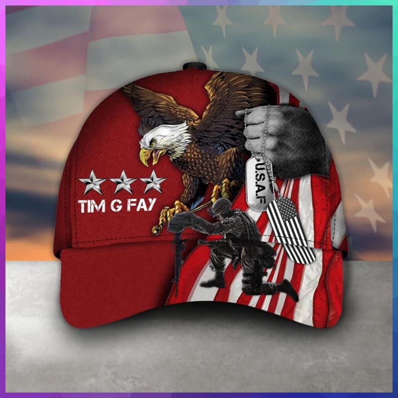 Veteran Eagle Timothy G Fay cap hat 1