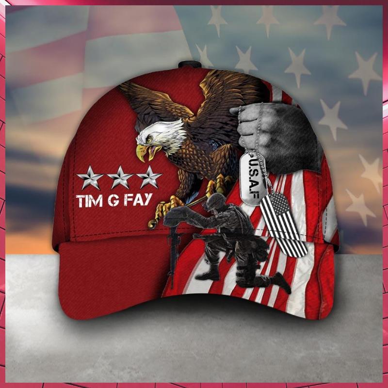 Veteran Eagle Timothy G Fay cap hat 2